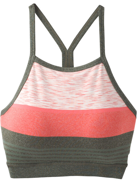 Prana Alois Bralette Women Forest Heather Stripe